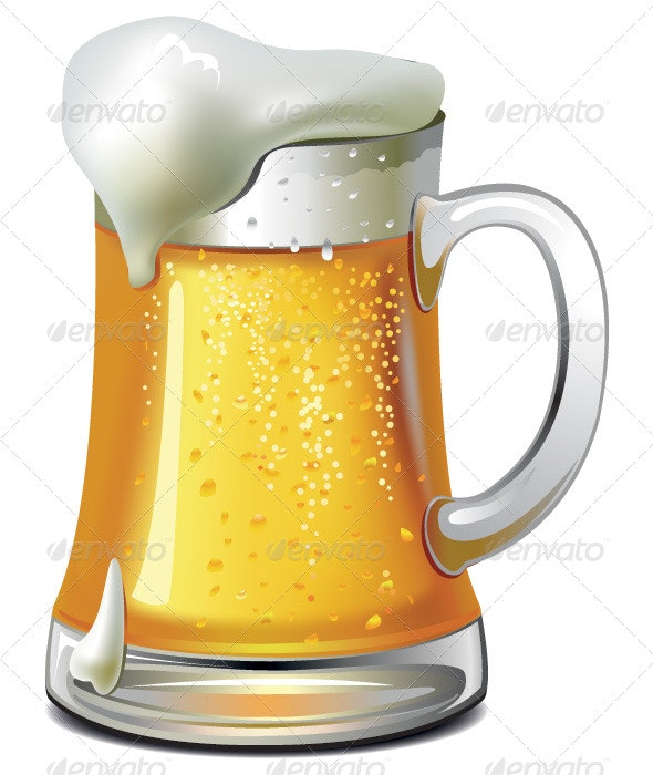 Beer Jug - Food Objects