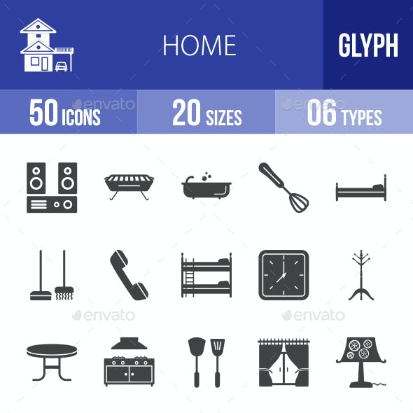 Home Glyph Icons