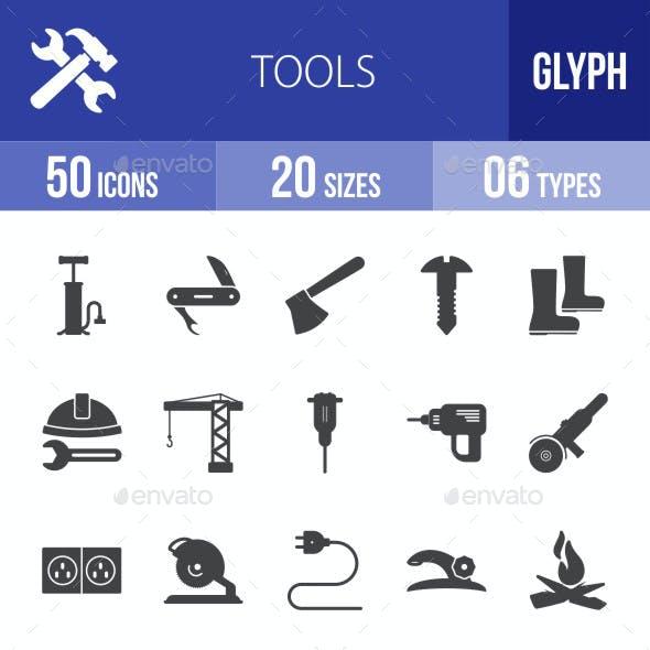 Tools Glyph Icons