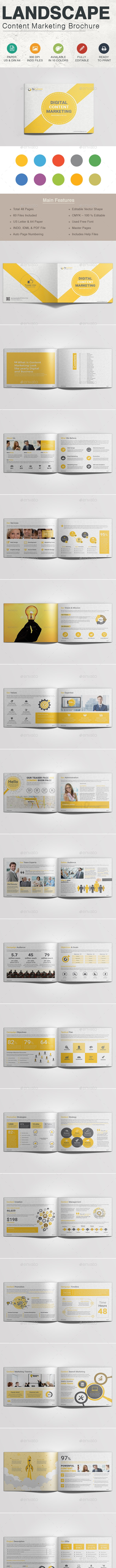 Landscape Content Marketing Brochure - Corporate Brochures