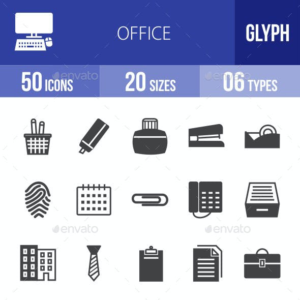 Office Glyph Icons