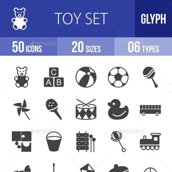 Toys Glyph Icons