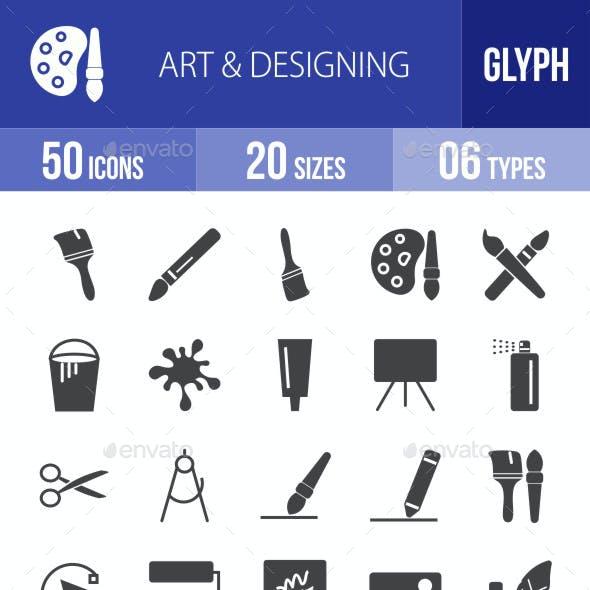 Art & Designing Glyph Icons
