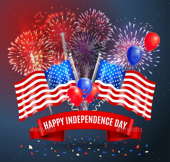 Happy Independence Day Festive Poster