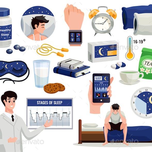 Healthy Sleep Flat Set