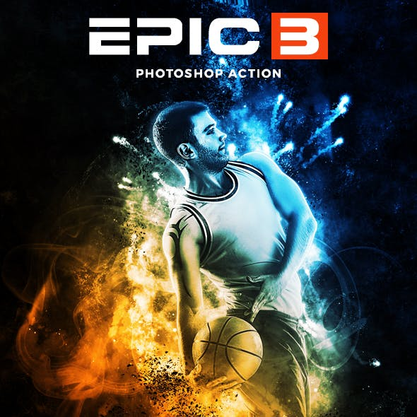 Epic 3 Photoshop Action