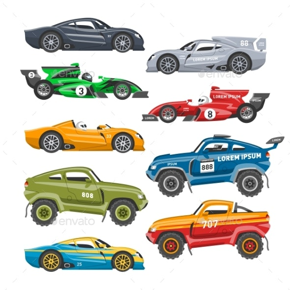 Rally Sport Car Vector Automobile Offroad Rally - Miscellaneous Vectors