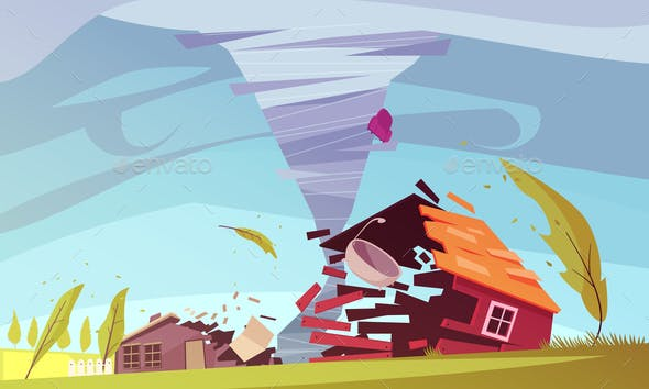 Storm Wind House Composition