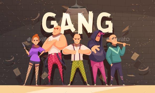 Flat Criminal Gang Composition