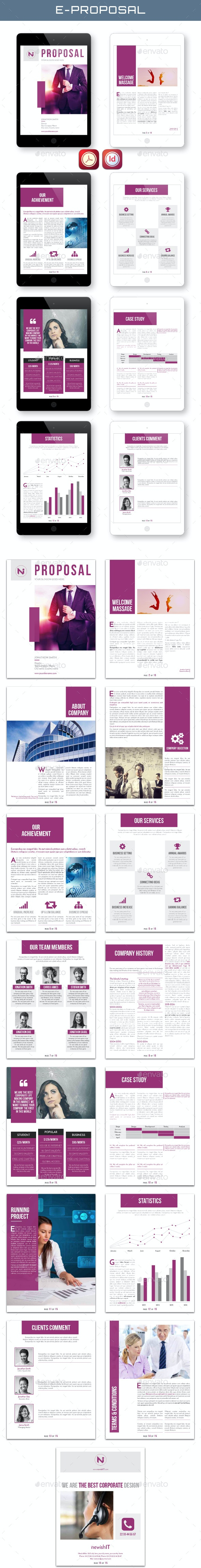 E-Proposal - Digital Books ePublishing