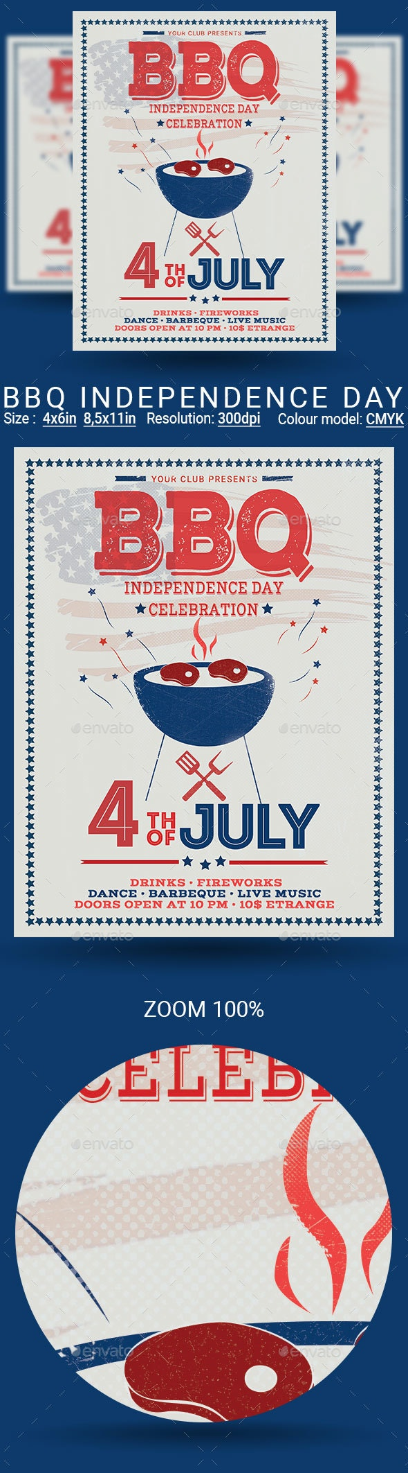 4th of July BBQ - Holidays Events