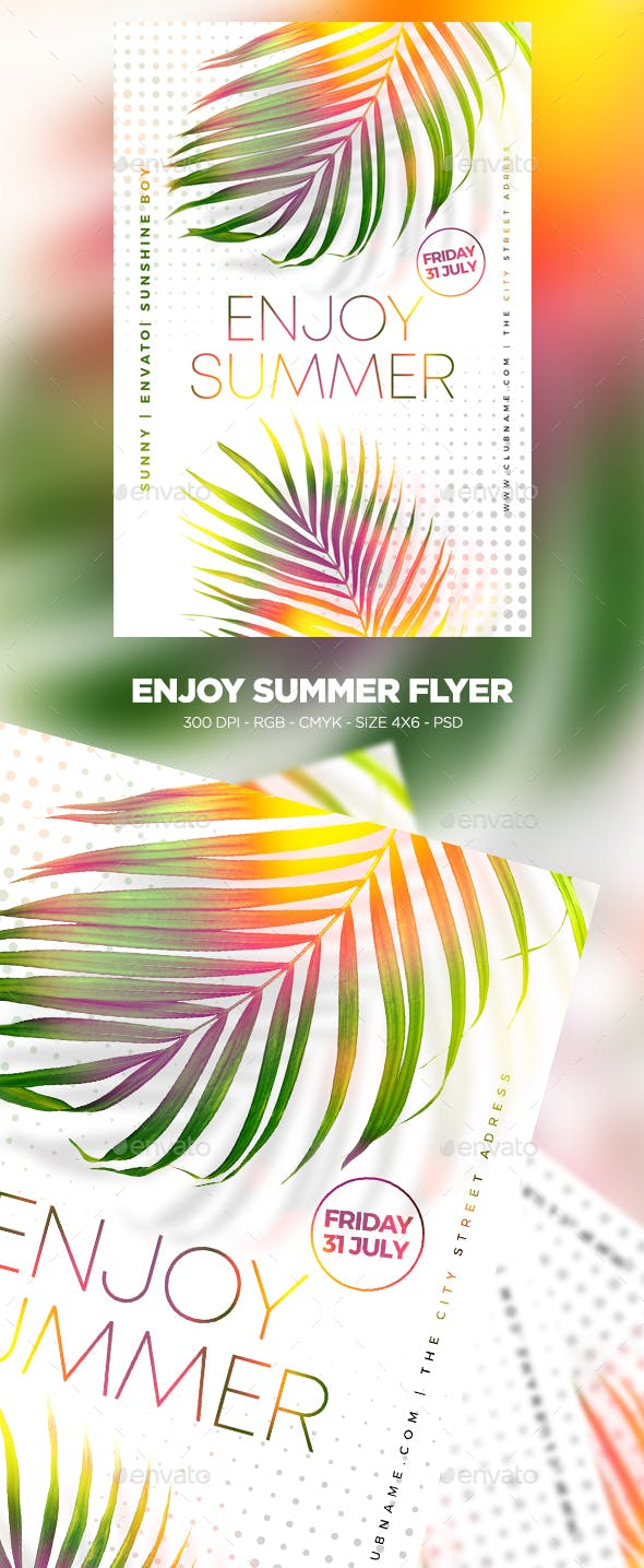 Enjoy Summer Flyer