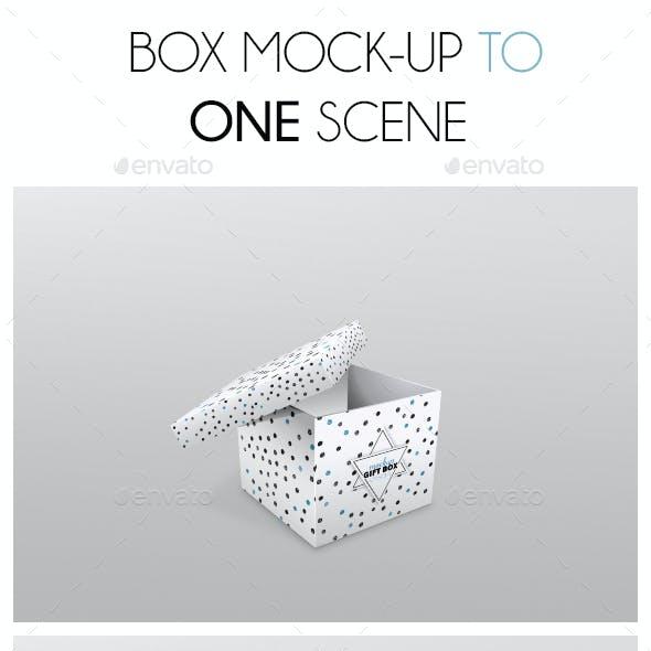 Box Mockup Square