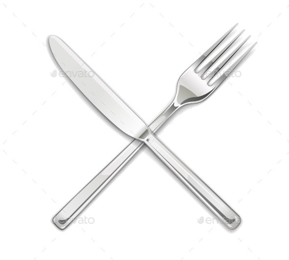 Set of Utensils for Eating - Man-made Objects Objects