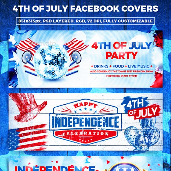 Independence Day Facebook Covers