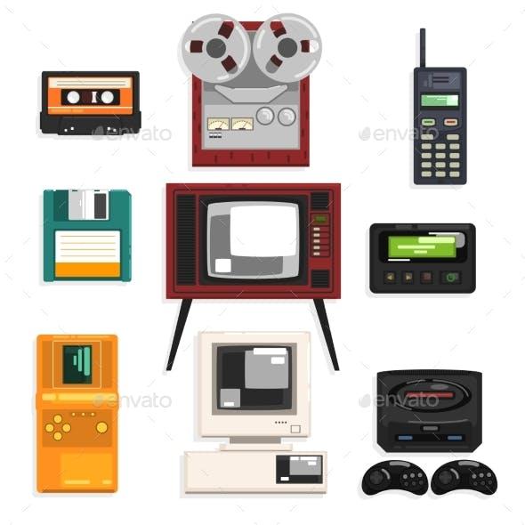 Collection of Retro Technique, Audio Music
