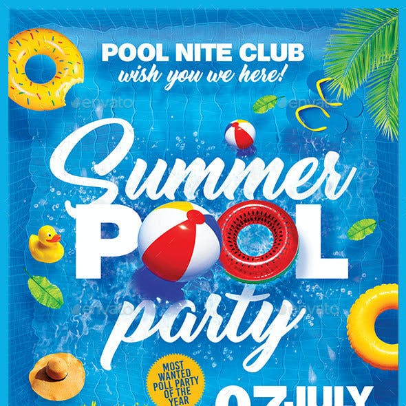 Summer Pool Party V2