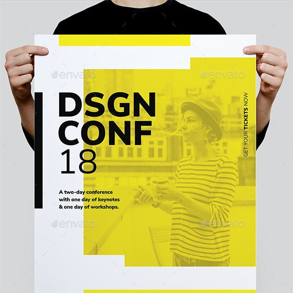 DSGN Series 9 Poster / Flyer Template