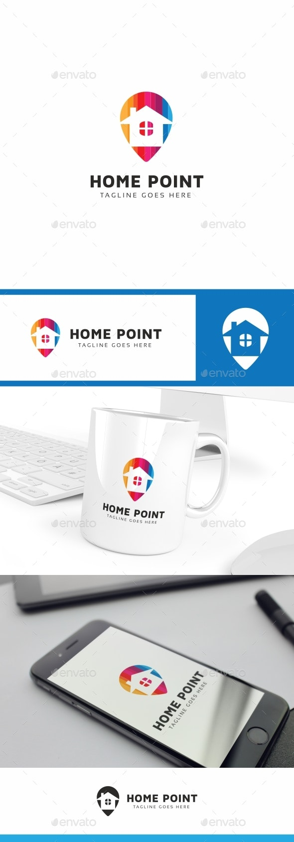 Home Point Logo - Buildings Logo Templates