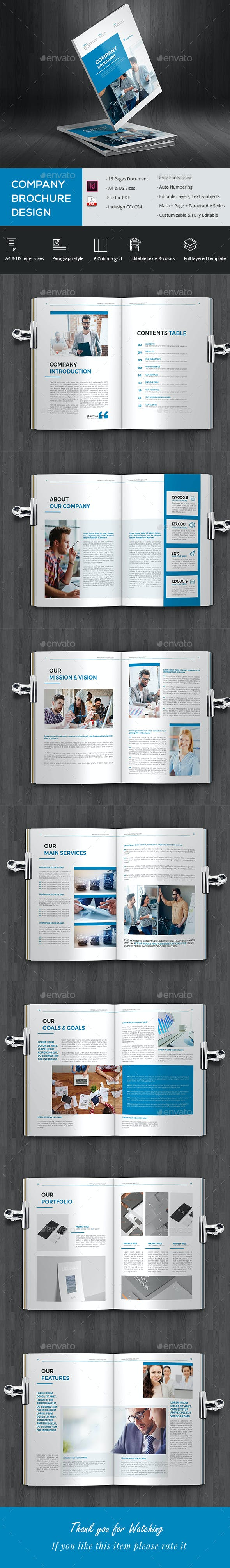 Simple Company Brochure