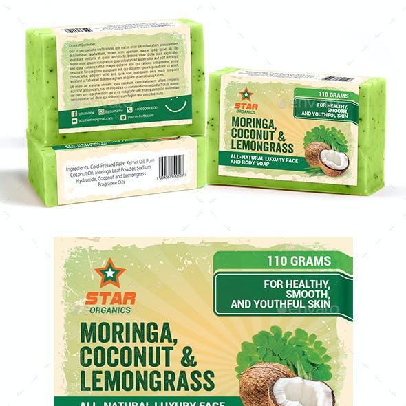Organic Soap Label Template