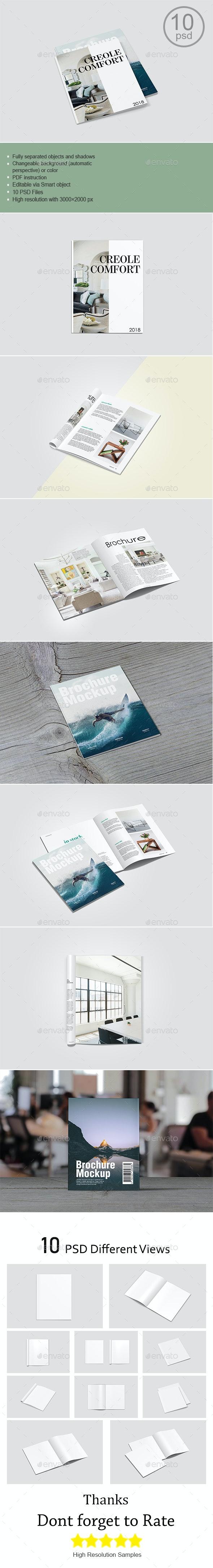 Magazine/Brochure Mockup - Brochures Print