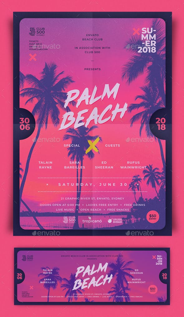 Palm Beach Summer Flyer