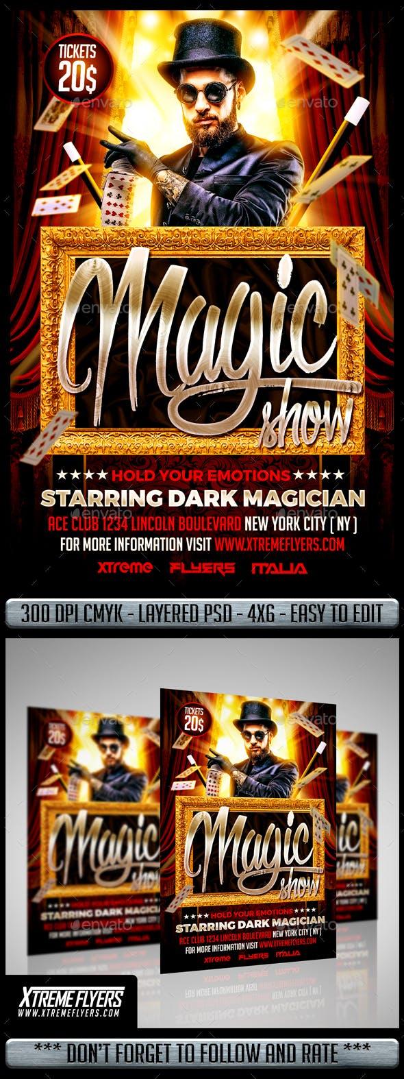 Magic Show Flyer