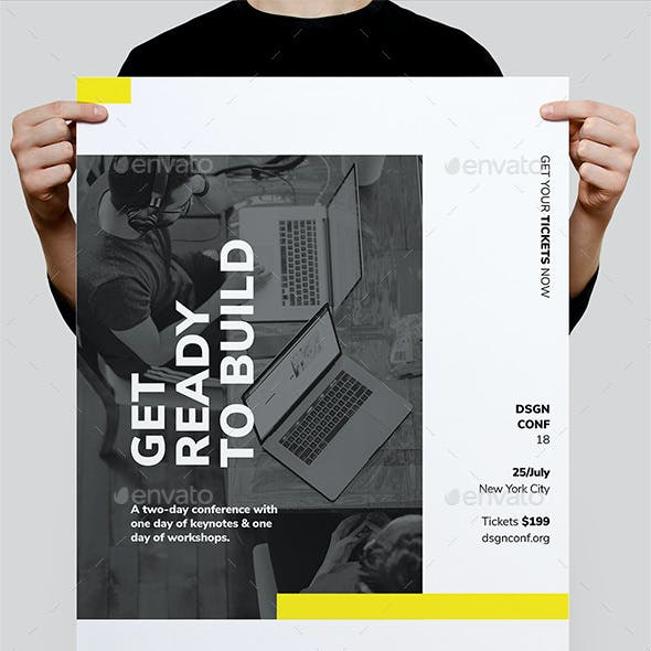 DSGN Series 8 Poster / Flyer Template