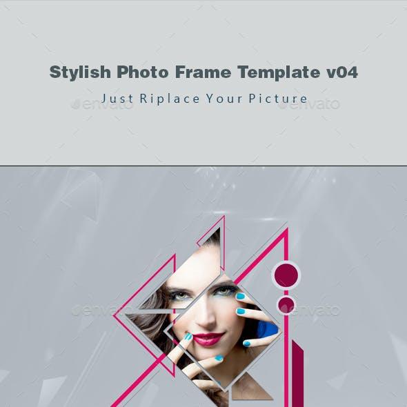 Stylish Photo Frame Template v04