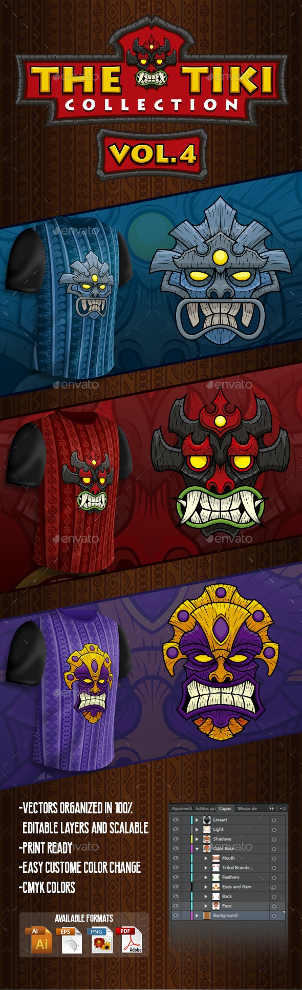 The Tiki Collection Vol 4 - Miscellaneous Characters
