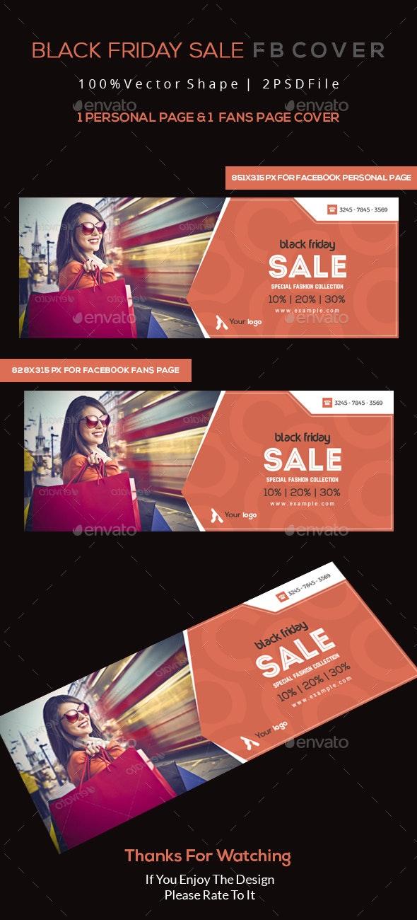 Black Friday Sale Facebook Cover - Facebook Timeline Covers Social Media
