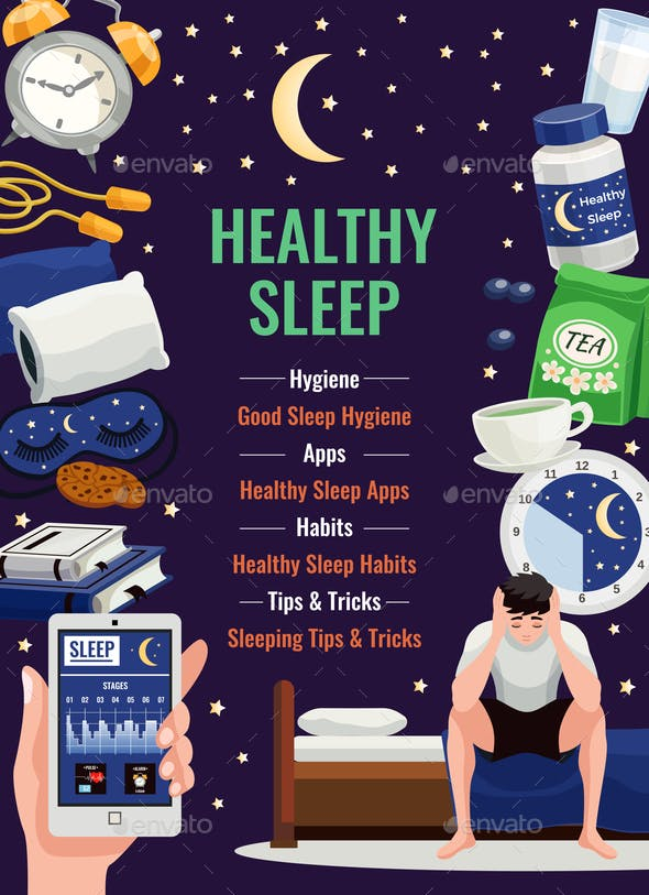 Healthy Sleep Poster