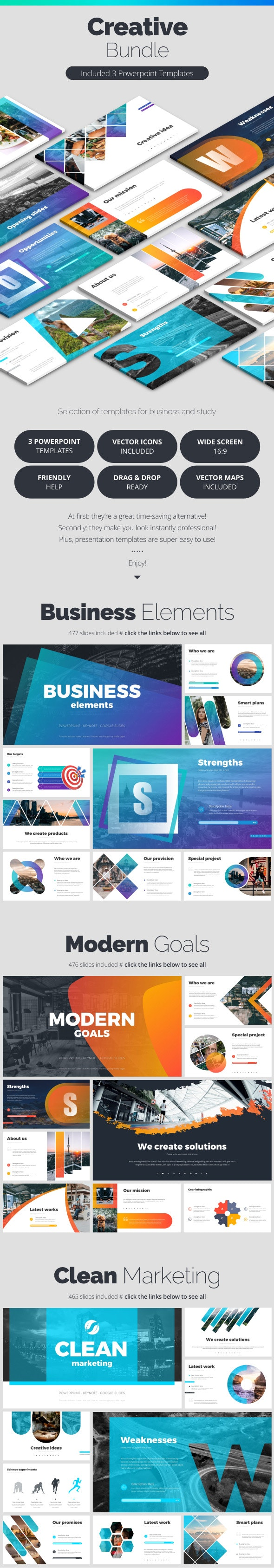 Creative Bundle - Business PowerPoint Templates