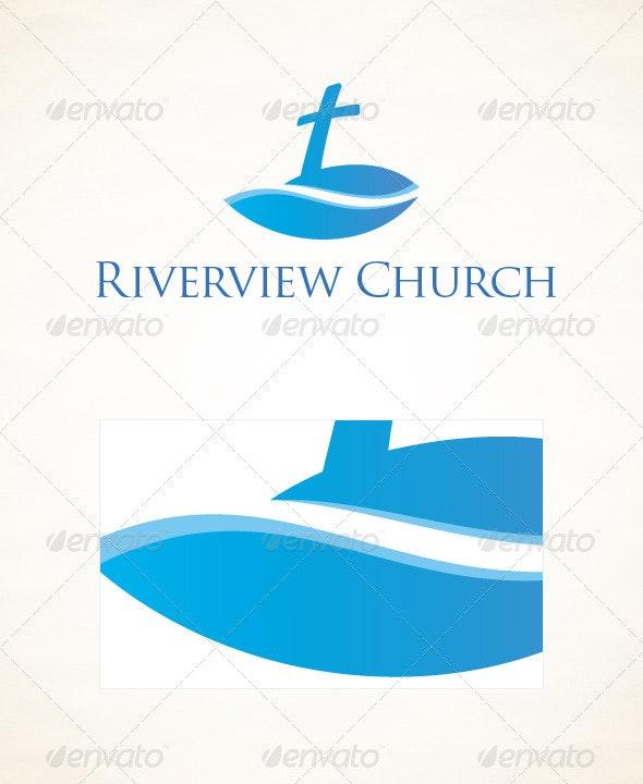 Riverview Church Logo - Symbols Logo Templates