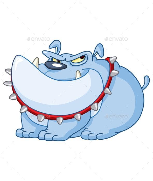 Bulldog - Animals Characters