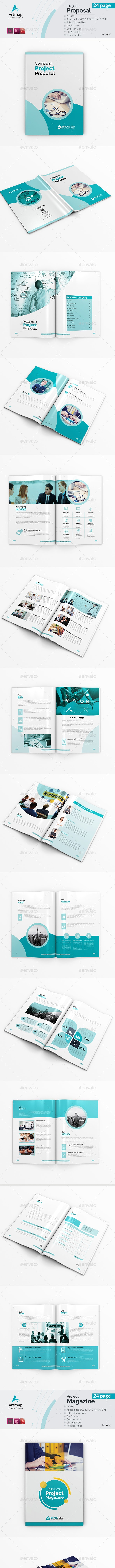 Bundle Proposal 2 in 1 - Brochures Print Templates