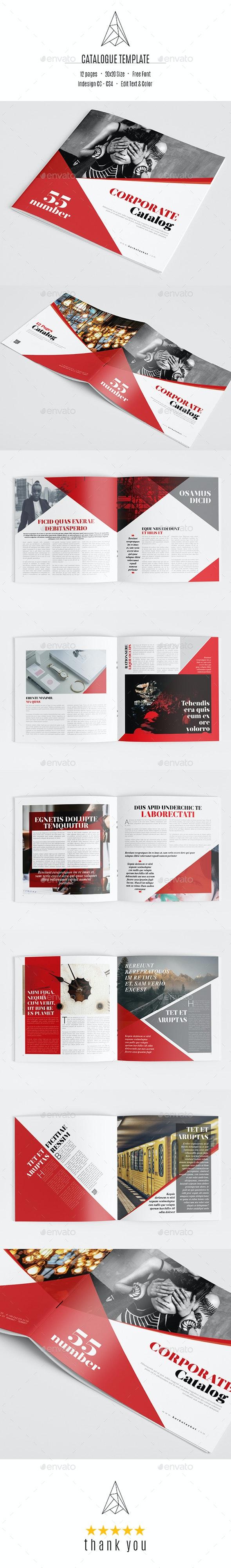 Corporate Catalogue Template - Catalogs Brochures