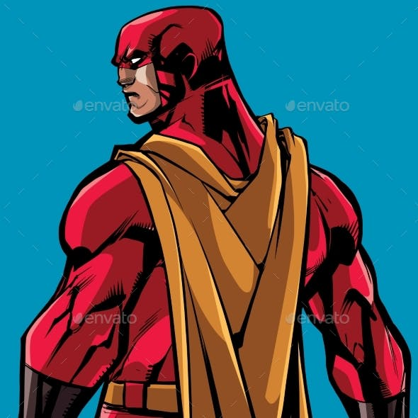 Superhero Back Battle Mode