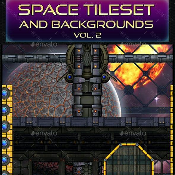 Sci-Fi Space Tileset Vol 2