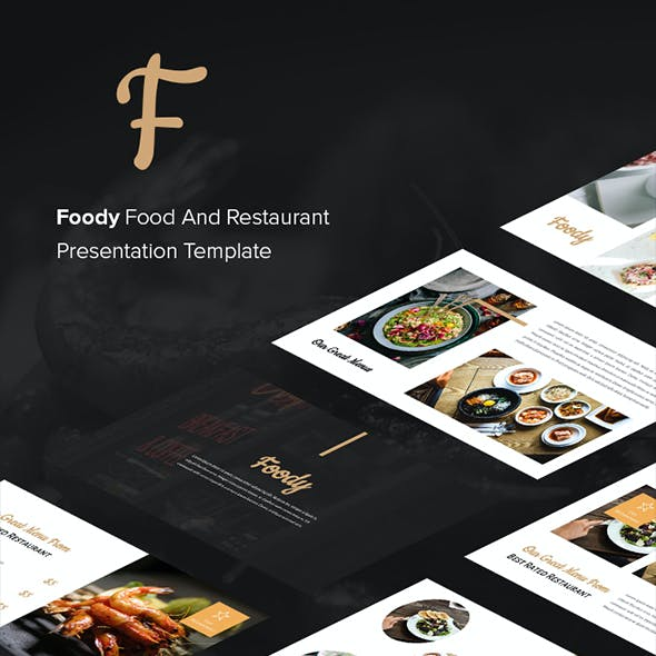 Foody - Food And Restaurant Keynote Template