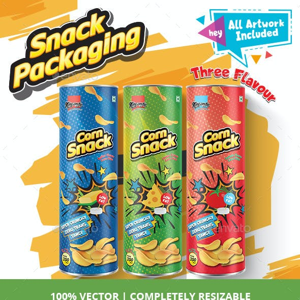 Chips/Snacks Packaging [Tube / Can]