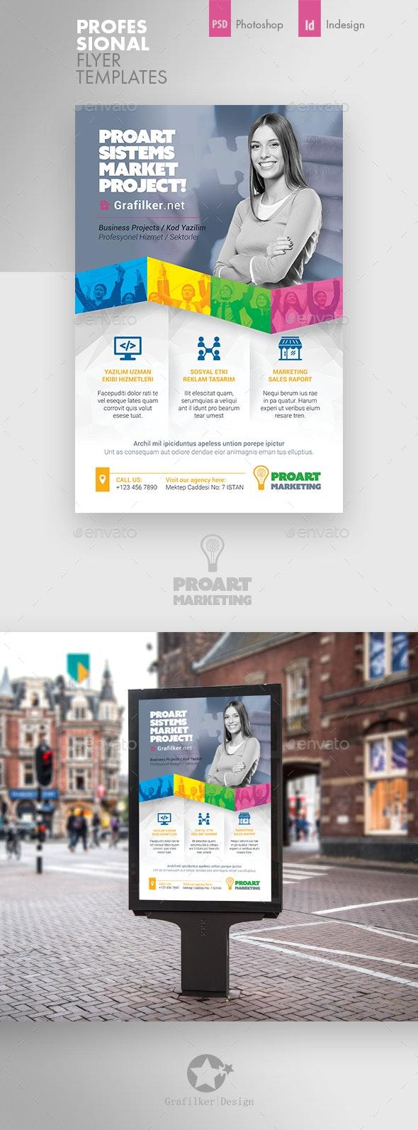 Marketing Poster Templates - Signage Print Templates
