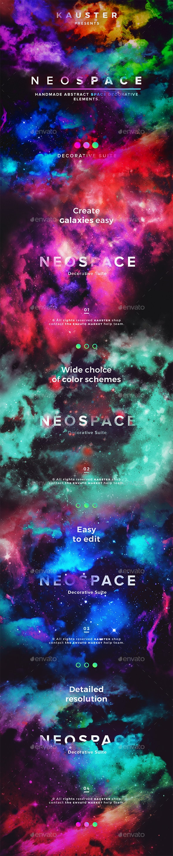 Neospace Decorative Suite - Decorative Graphics