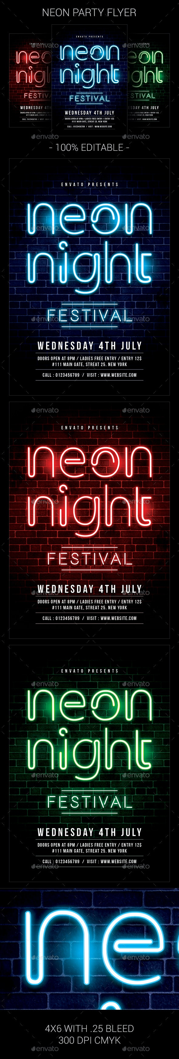 Neon Party - Clubs & Parties Events