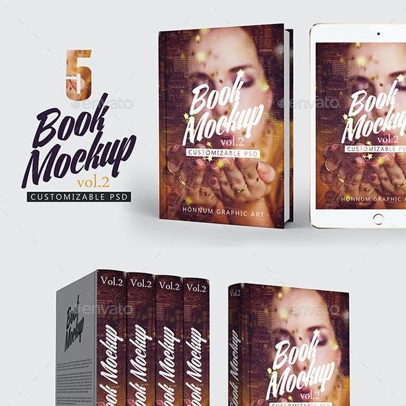 Book Mockup Vol 2