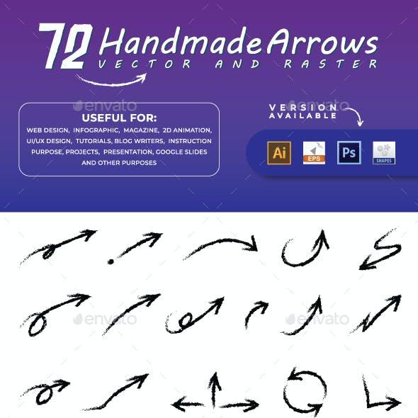 Arrows  |  Handmade Arrows  |  Scribble Arrows
