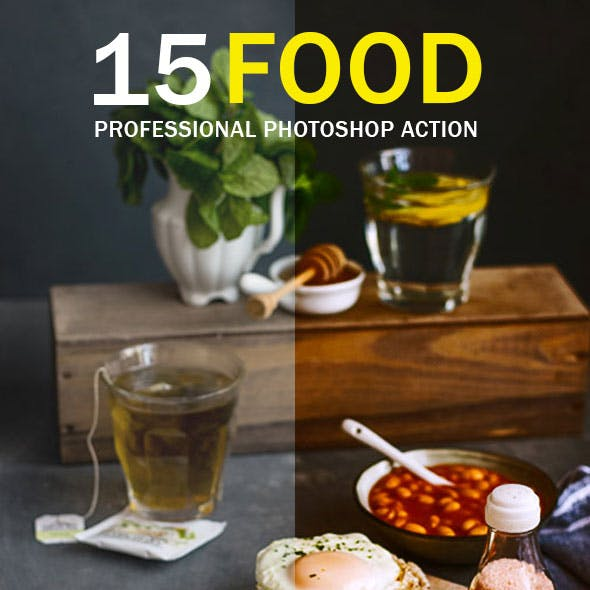 Food Photoshop Action