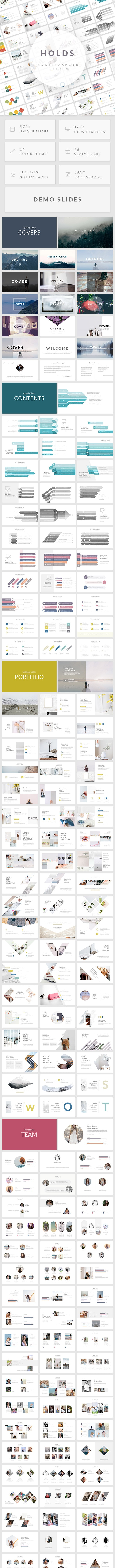 Holds - Multipurpose Google Slides Template - Google Slides Presentation Templates
