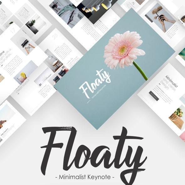 Floaty- Minimalist Keynote Template